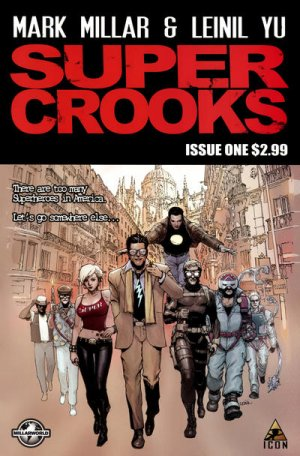 Supercrooks édition Issues (2012)