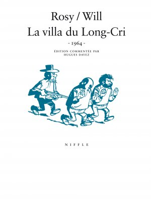 La villa du Long-Cri édition simple