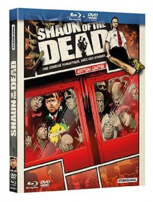 Shaun of the dead édition Comic Book - Blu-ray + DVD