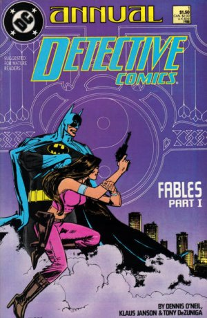 Batman - Detective Comics édition Issues V1 - Annuals (1988 - 2011)