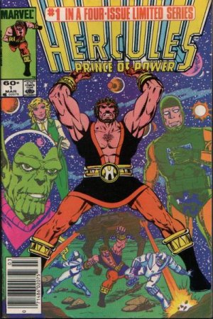 Hercules (Marvel) édition Issues V2 (1984)