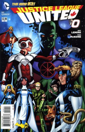 Justice League United # 0 Issues V1 (2014 - 2016)