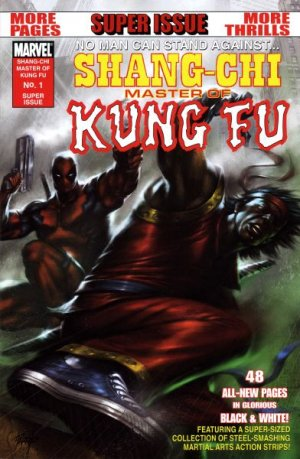 Shang-Chi - Master of Kung Fu One-Shot (B&W) édition Issue (2009)