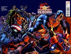 Captain America - Reborn # 5 Issues