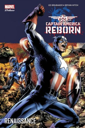 Captain America - Reborn # 5 TPB Hardcover - Marvel Deluxe - Issues V5/V1Suite