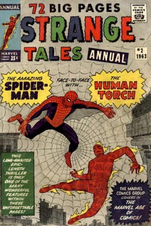 Strange Tales # 2 Annuals (1962 - 1963)