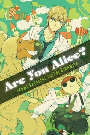 couverture, jaquette Are You Alice? 4 Américaine (Yen Press)