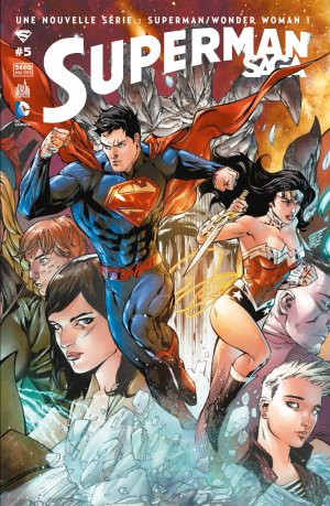 Superman Unchained # 5 Kiosque mensuel