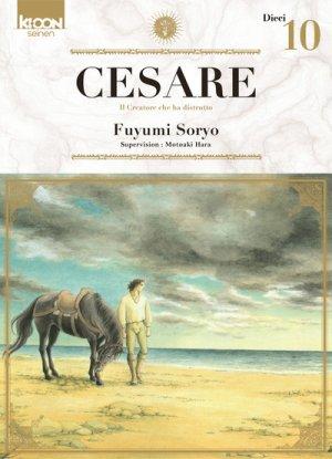 couverture, jaquette Cesare 10  (Ki-oon)