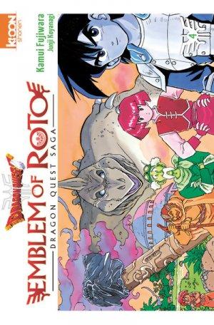 couverture, jaquette Dragon Quest - Emblem of Roto 4  (Ki-oon)