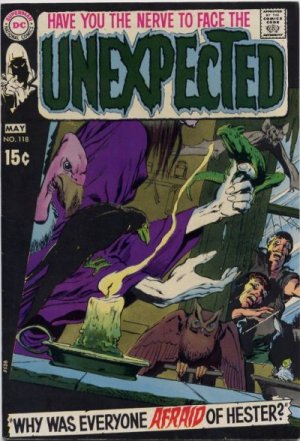The unexpected # 118 Issues V1 Suite (1968 - 1982)