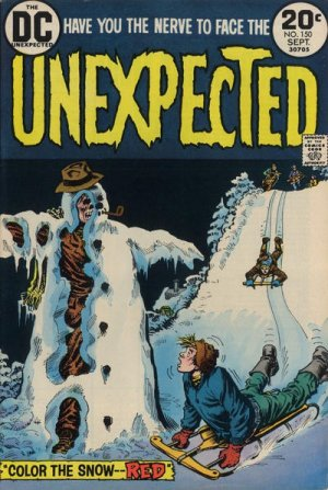 The unexpected # 150 Issues V1 Suite (1968 - 1982)