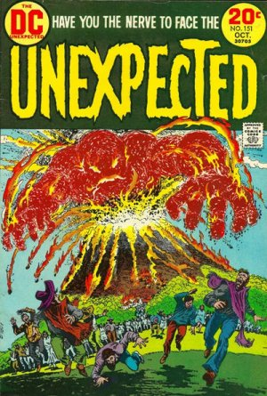 The unexpected # 151 Issues V1 Suite (1968 - 1982)