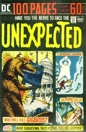 The unexpected # 157 Issues V1 Suite (1968 - 1982)