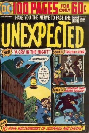 The unexpected # 159 Issues V1 Suite (1968 - 1982)