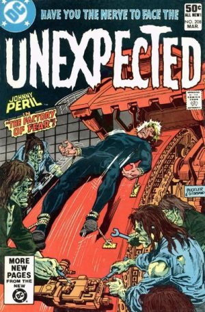 The unexpected # 208 Issues V1 Suite (1968 - 1982)