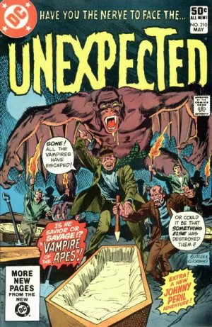 The unexpected # 210 Issues V1 Suite (1968 - 1982)