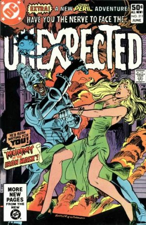 The unexpected # 211 Issues V1 Suite (1968 - 1982)