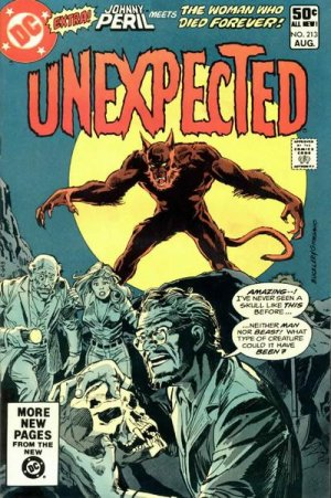 The unexpected # 213 Issues V1 Suite (1968 - 1982)