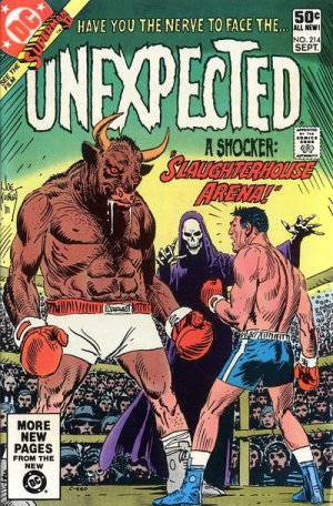 The unexpected # 214 Issues V1 Suite (1968 - 1982)