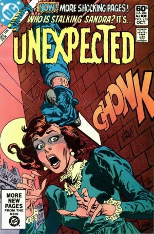 The unexpected # 215 Issues V1 Suite (1968 - 1982)
