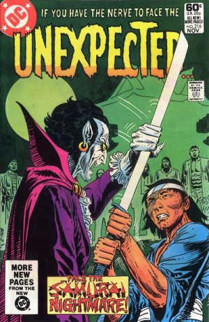 The unexpected # 216 Issues V1 Suite (1968 - 1982)