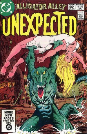 The unexpected # 218 Issues V1 Suite (1968 - 1982)