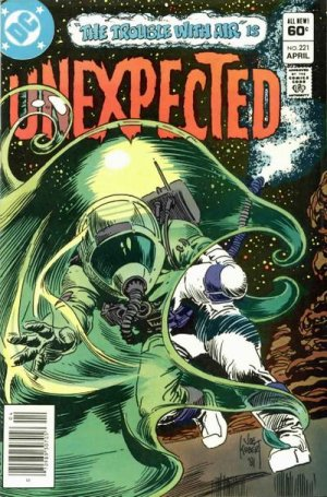 The unexpected # 221 Issues V1 Suite (1968 - 1982)