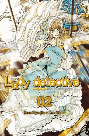 couverture, jaquette Lady détective 2  (Clair de lune Manga)