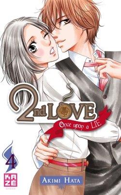 couverture, jaquette 2nd Love - Once upon a lie 4  (kazé manga)