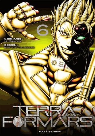 couverture, jaquette Terra Formars 6  (kazé manga)