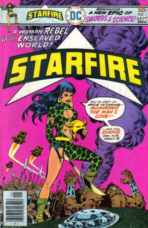 Starfire édition Issues V1 (1976 - 1977)