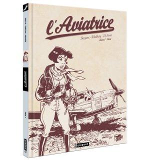 L'Aviatrice édition crayonné