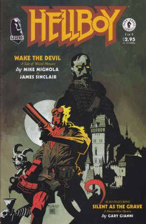 Hellboy - Wake the Devil édition Issues