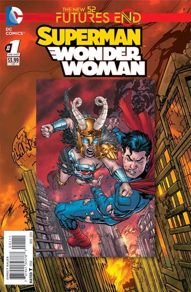 Superman / Wonder Woman - Futures End # 1 Issues