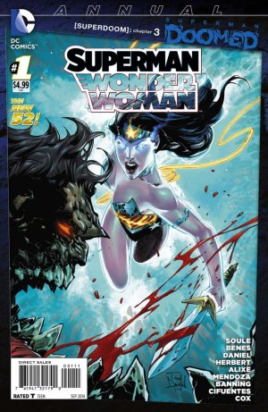 Superman / Wonder Woman édition Issues - Annuals (2014-2015)