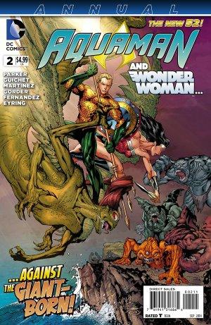 Aquaman # 2 Issues V7 - Annuals (2013 - 2014)