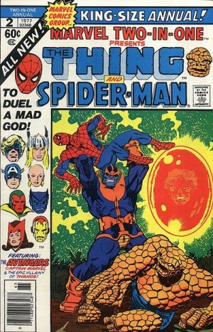 Marvel Two-In-One # 2 Issues V1 - Annuals (1976 - 1982)