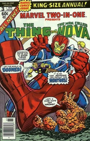 Marvel Two-In-One 3 - When Strike The Monitors!