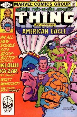 Marvel Two-In-One 6 - An Eagle From America!