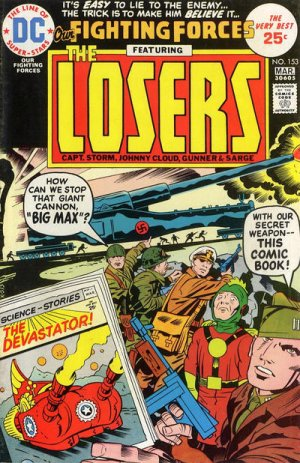 Our Fighting Forces # 153 Issues V1 (1954 - 1978)