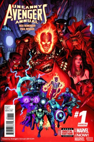 Uncanny Avengers édition Issues V1 - Annual (2014)