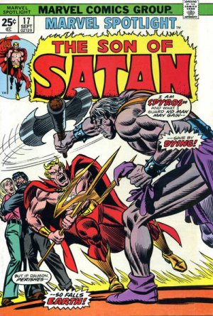 Marvel Spotlight 17 - In the Shadow of the Serpent!
