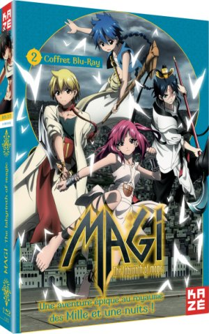 Magi - The Labyrinth of Magic 2
