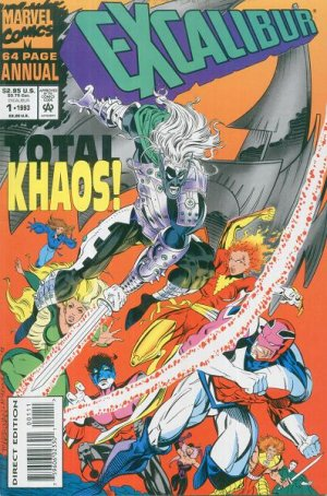 Excalibur édition Issues V1 - Annuals (1993 - 1994)