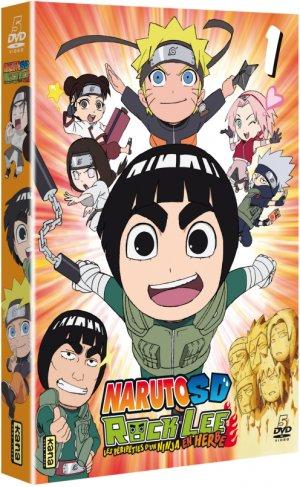 couverture, jaquette Naruto SD – Rock Lee les péripéties d'un ninja en herbe 1  (Kana home video)