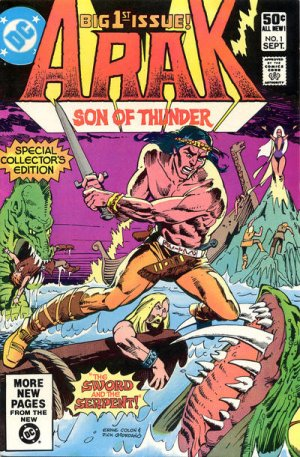 Arak édition Issues V1 (1981 - 1985)