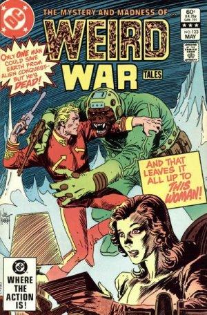 Weird War Tales # 123 Issues V1 (1971 - 1983)