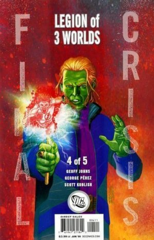 Final Crisis - Legion of Three Worlds # 4 Issues