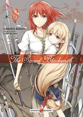 couverture, jaquette The Sacred Blacksmith 8  (Doki-Doki) Manga